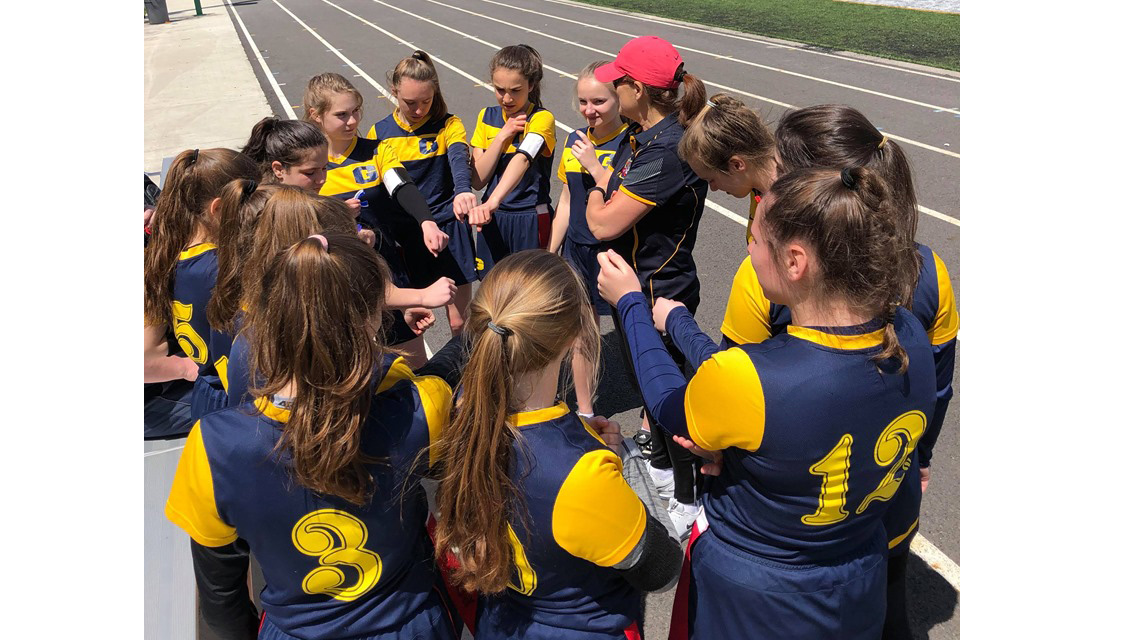 Pipers flag-football worked hard over Mother's Day weekend