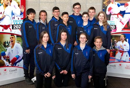 Strong performance from Townshippers at Canadian Junior Karate Championship in Edmonton