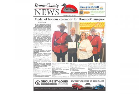 Brome County News – May 21, 2019 edition