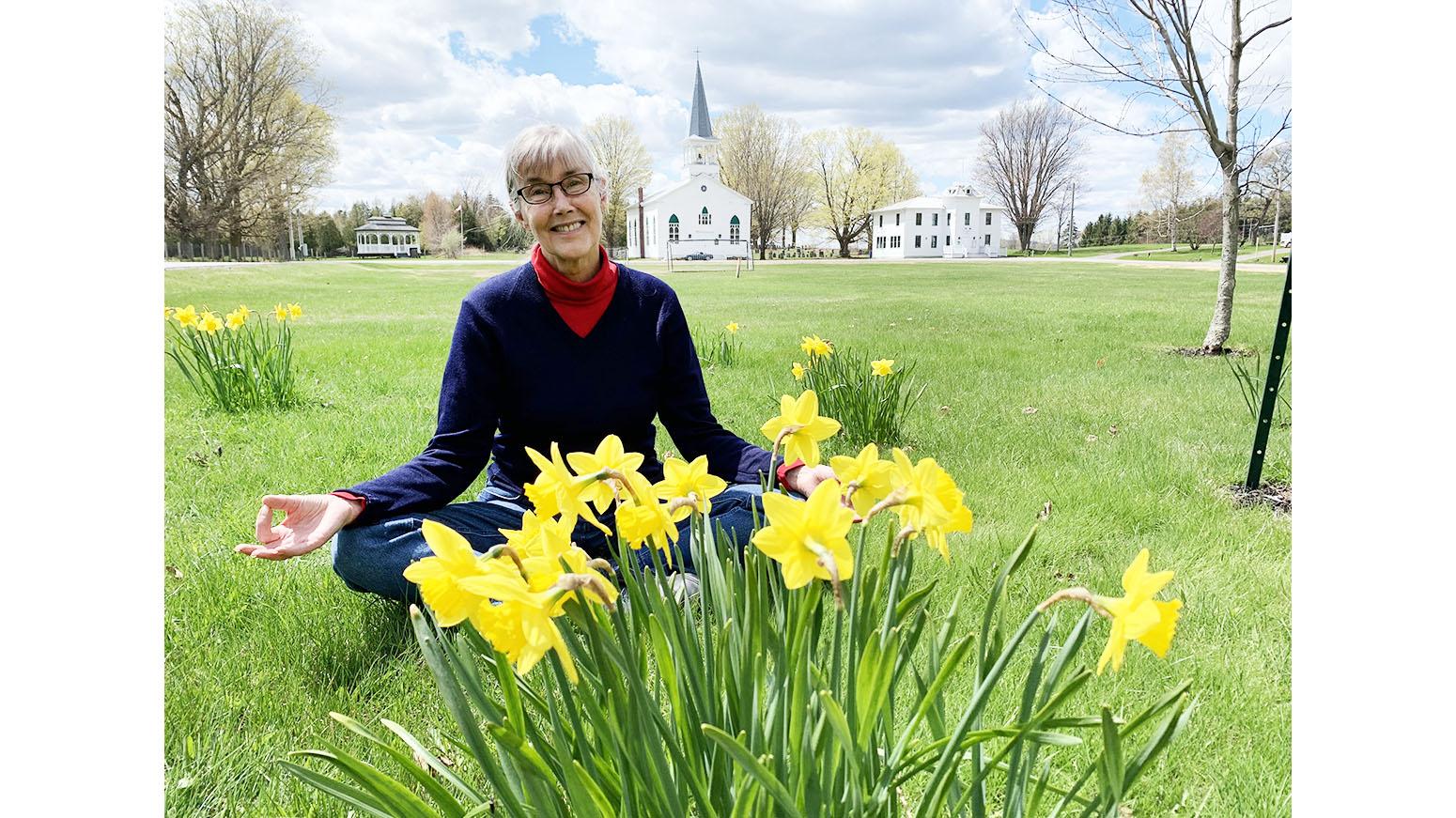 The Common daffodils are struggling