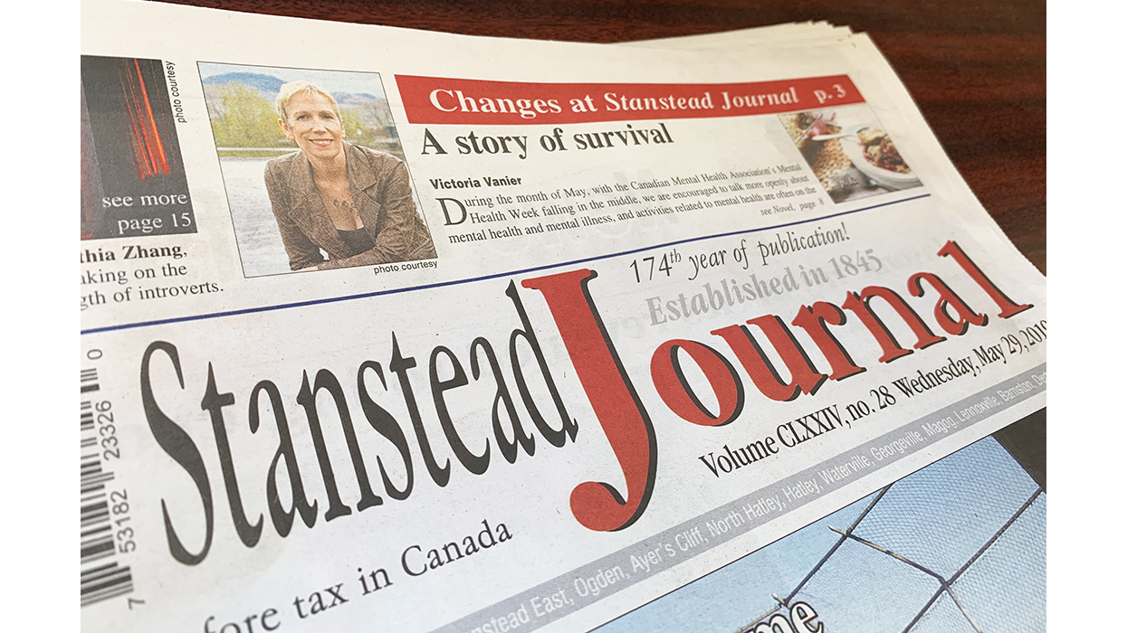 Stanstead Journal stops publishing weekly edition