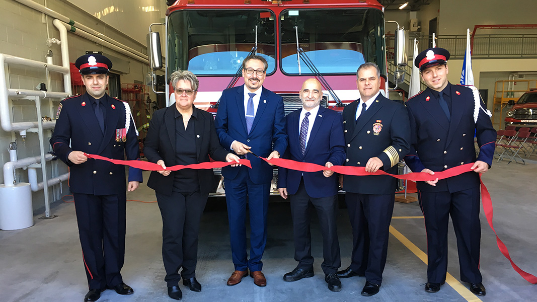 New Lennoxville fire station inaugurated