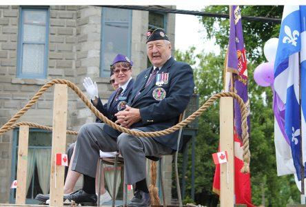 Sherbrooke Canada Day honours Robert Groulx