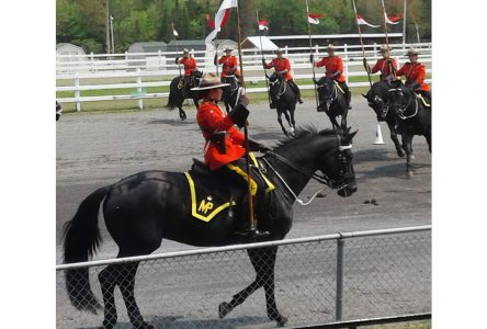 RCMP Musical Ride thrilled audiences on the Brome Fair grounds