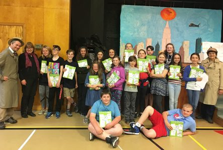 North Hatley elementary students become published murder mystery authors