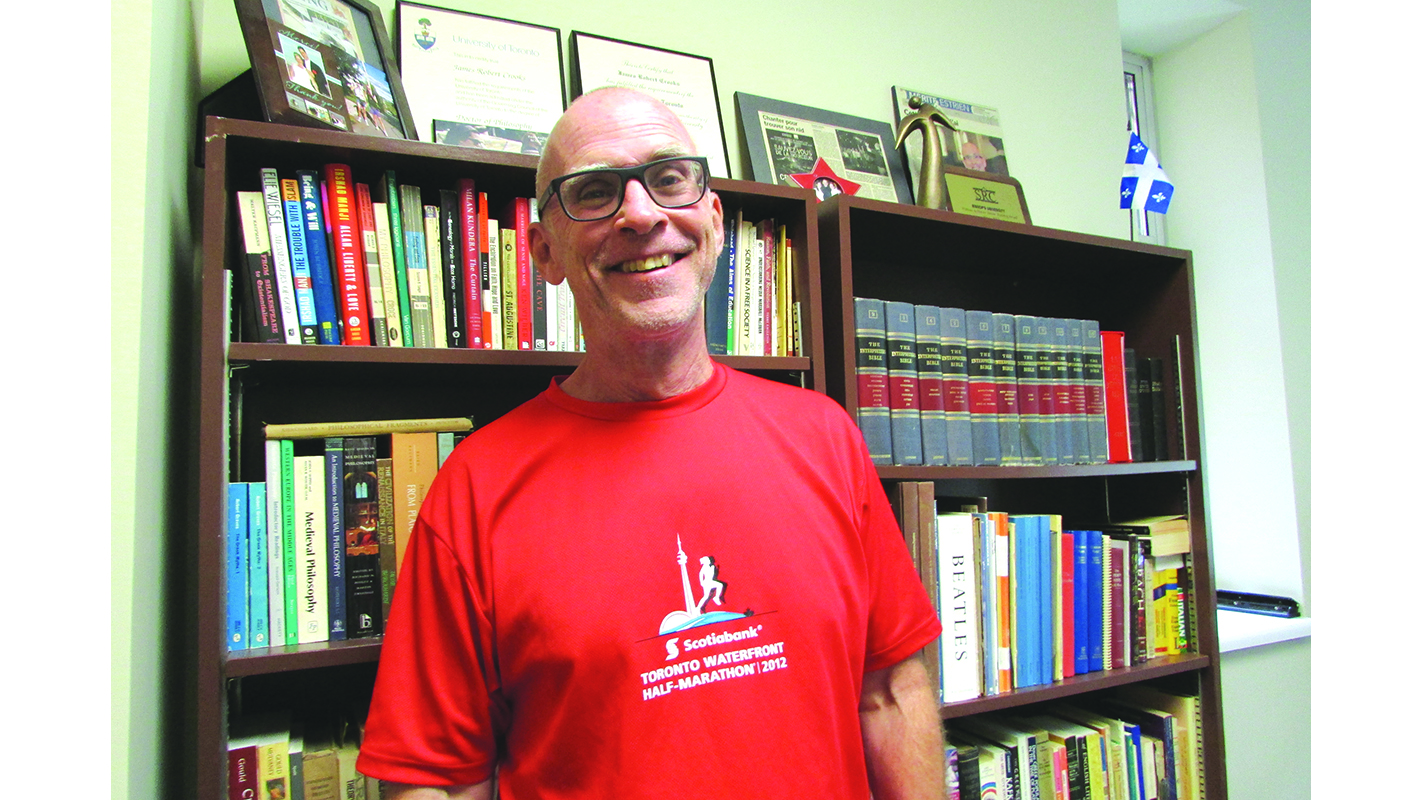 Creative Mornings hosts BU  professor Jamie Crooks