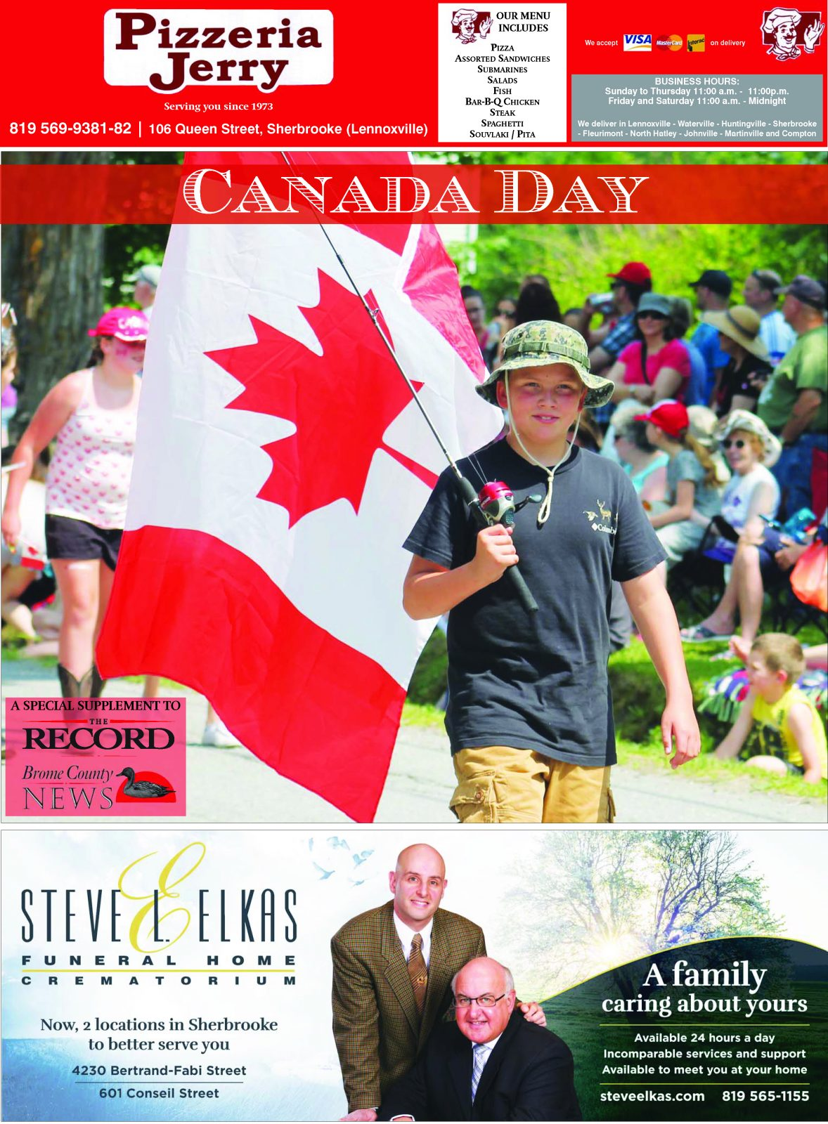 Canada Day in the Townships 2019