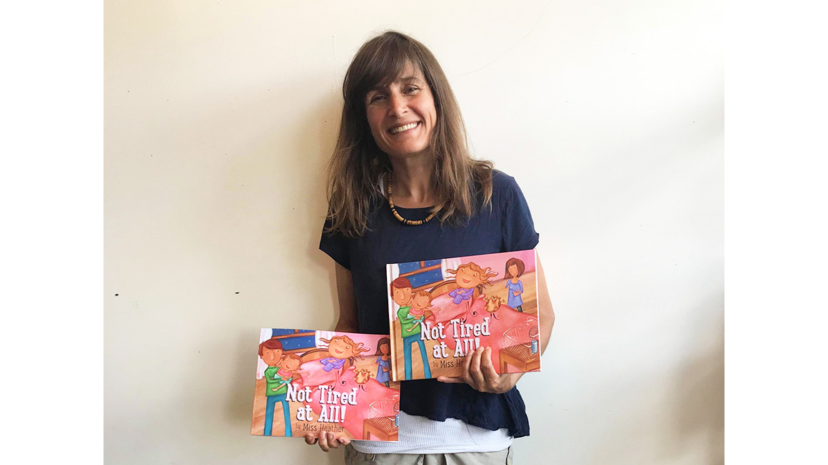 Not Tired at All! Local author pens children's book