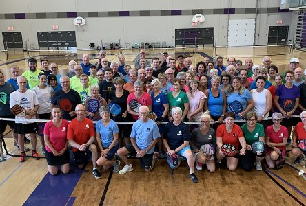 Rollande Gingras Pickleball Tournament  a smashing success