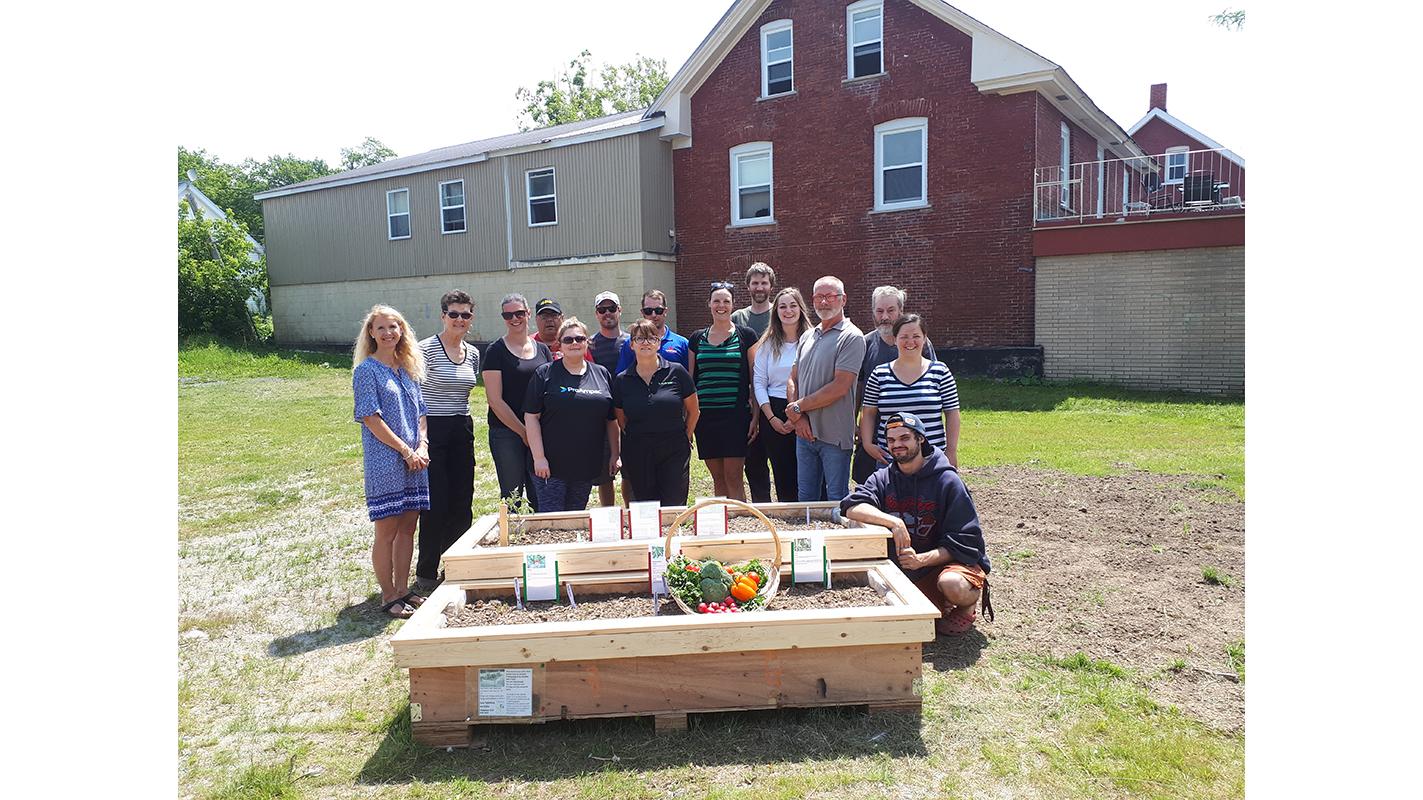 "Les Tabliers en folie launches ""self-service gardening"" project in Richmond"