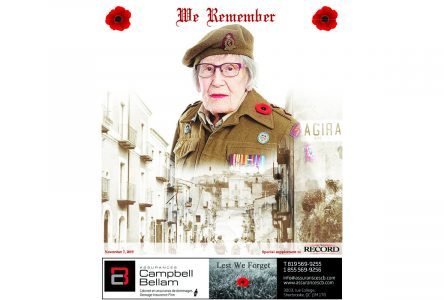Remembrance Day – Special Supplement Nov 7, 2019