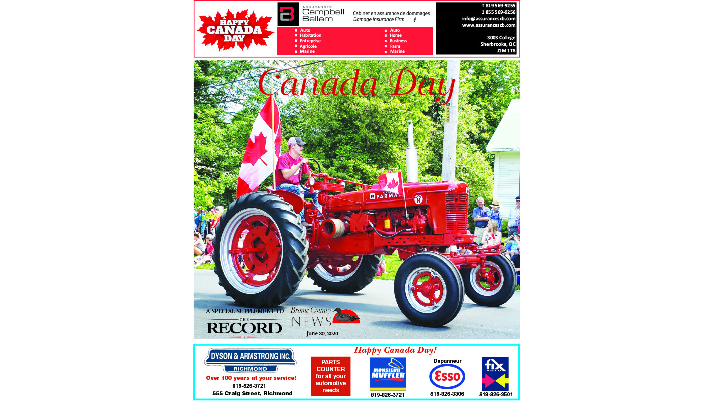 Canada Day supplement 2020