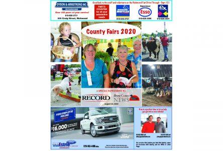 County Fairs 2020