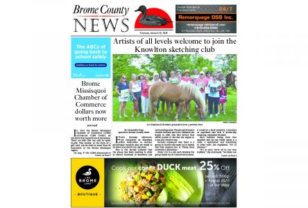 Brome County News – August 25, 2020 edition