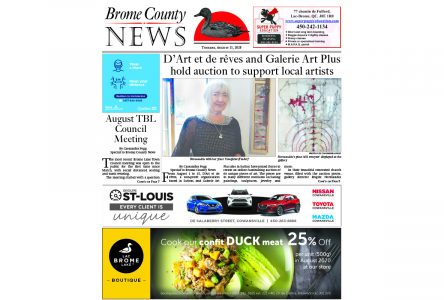 Brome County News – August 11, 2020 edition