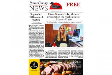 Brome County News – Sept. 15, 2020 edition