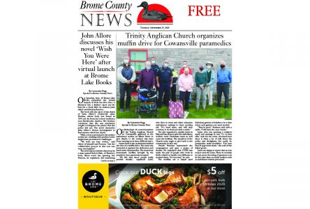 Brome County News: Sept. 29, 2020 edition