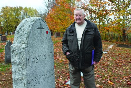 Local vet aims to spruce up cemetery