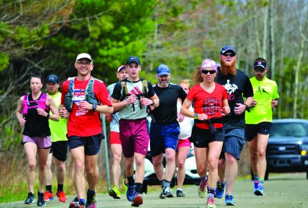 Sherbrooke pediatrician sets off on three-day ultramarathon fundraiser for Moisson Estrie