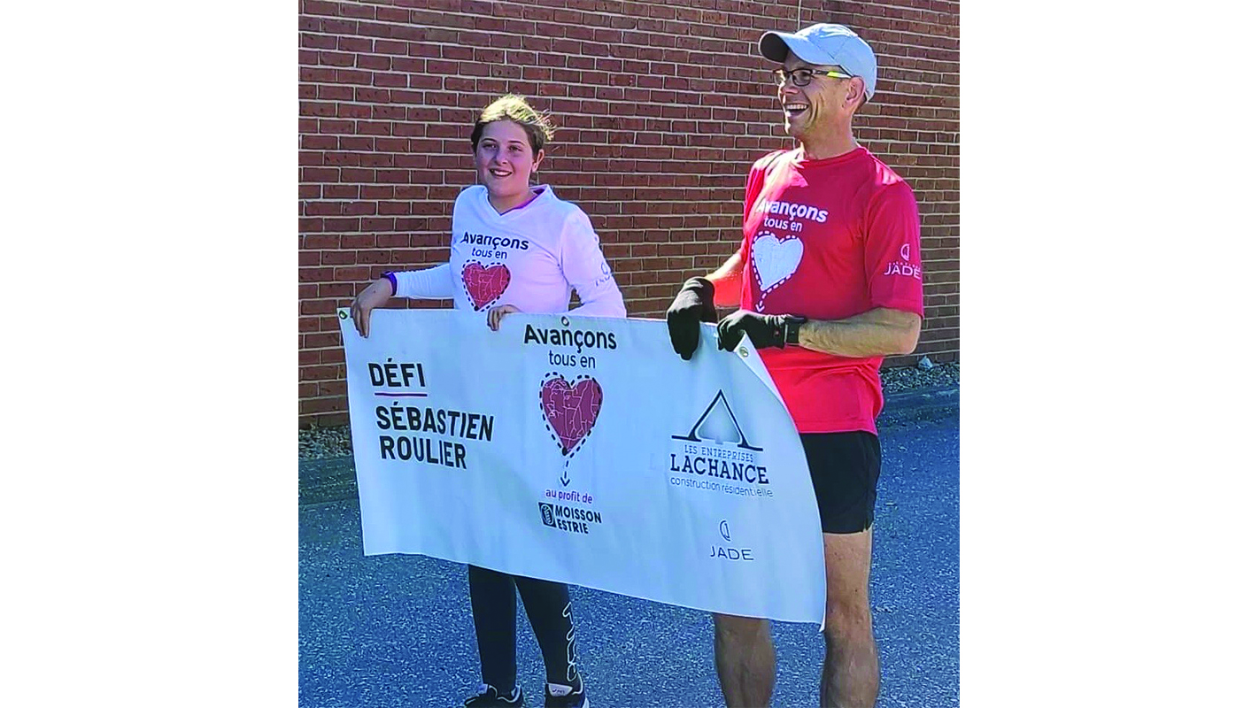 Sherbrooke pediatrician concludes 422 km  journey around the  Eastern Townships