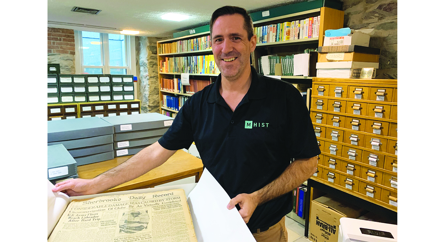 Record archives pulled from the flood