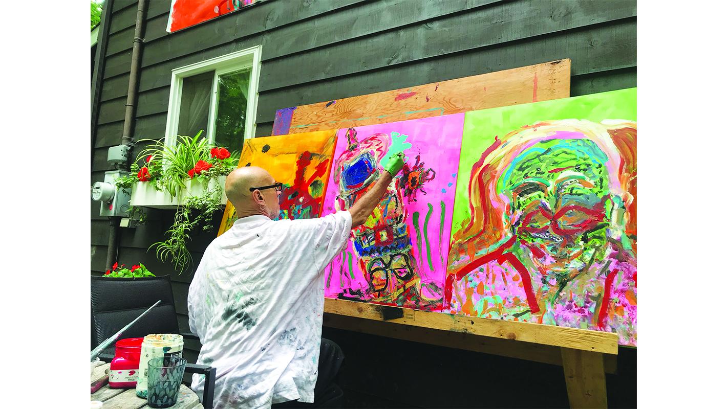 North Hatley artist brings Pandemonium online