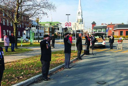 Alain Rayes and the Royal Canadian Legion remembers