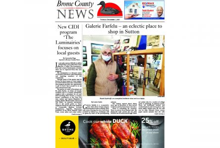 Brome County News – Dec. 1, 2020 edition