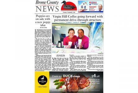 Brome County News – Nov. 3, 2020 edition