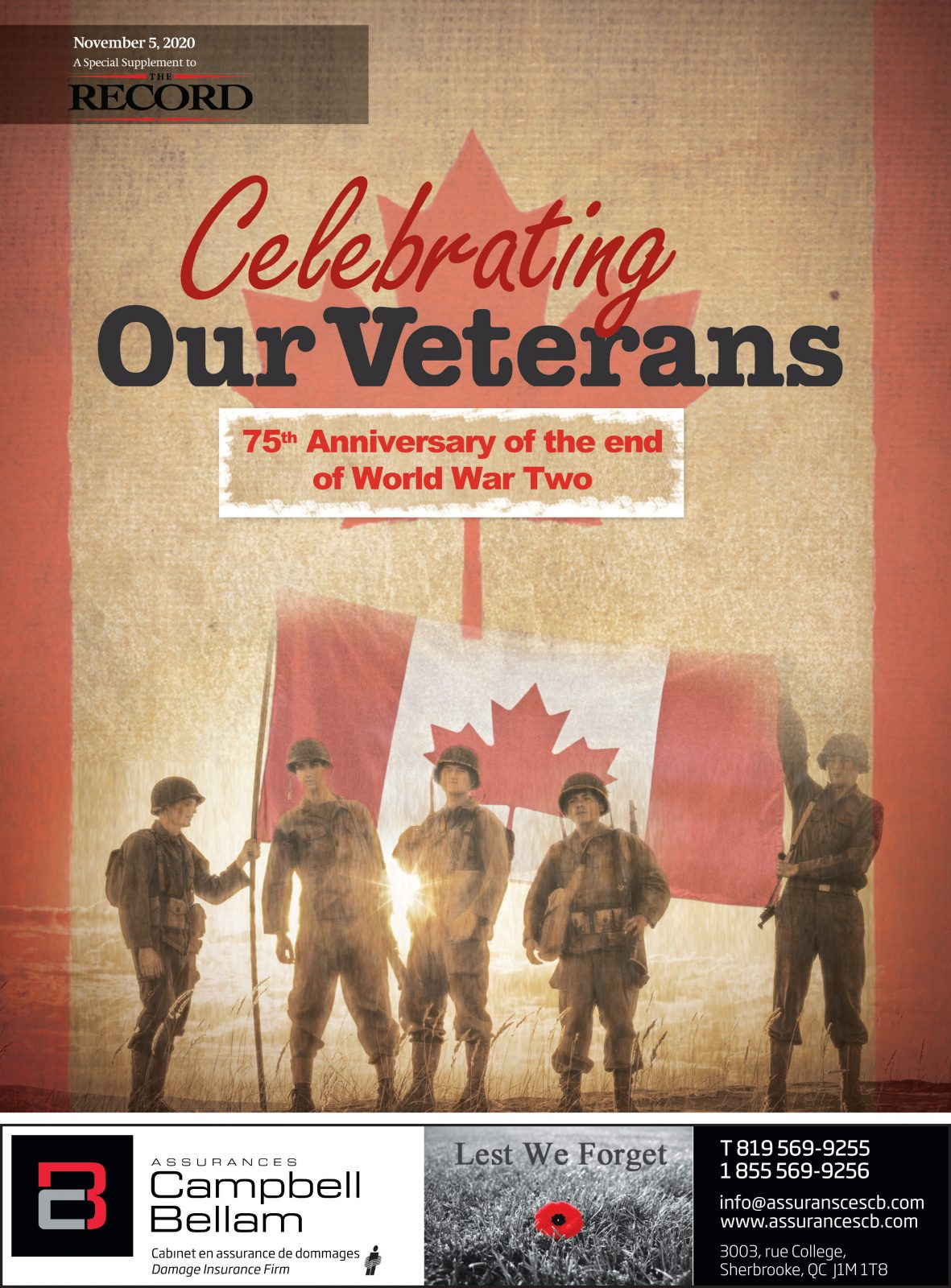 Celebrating our Veterans – Special section November 5, 2020