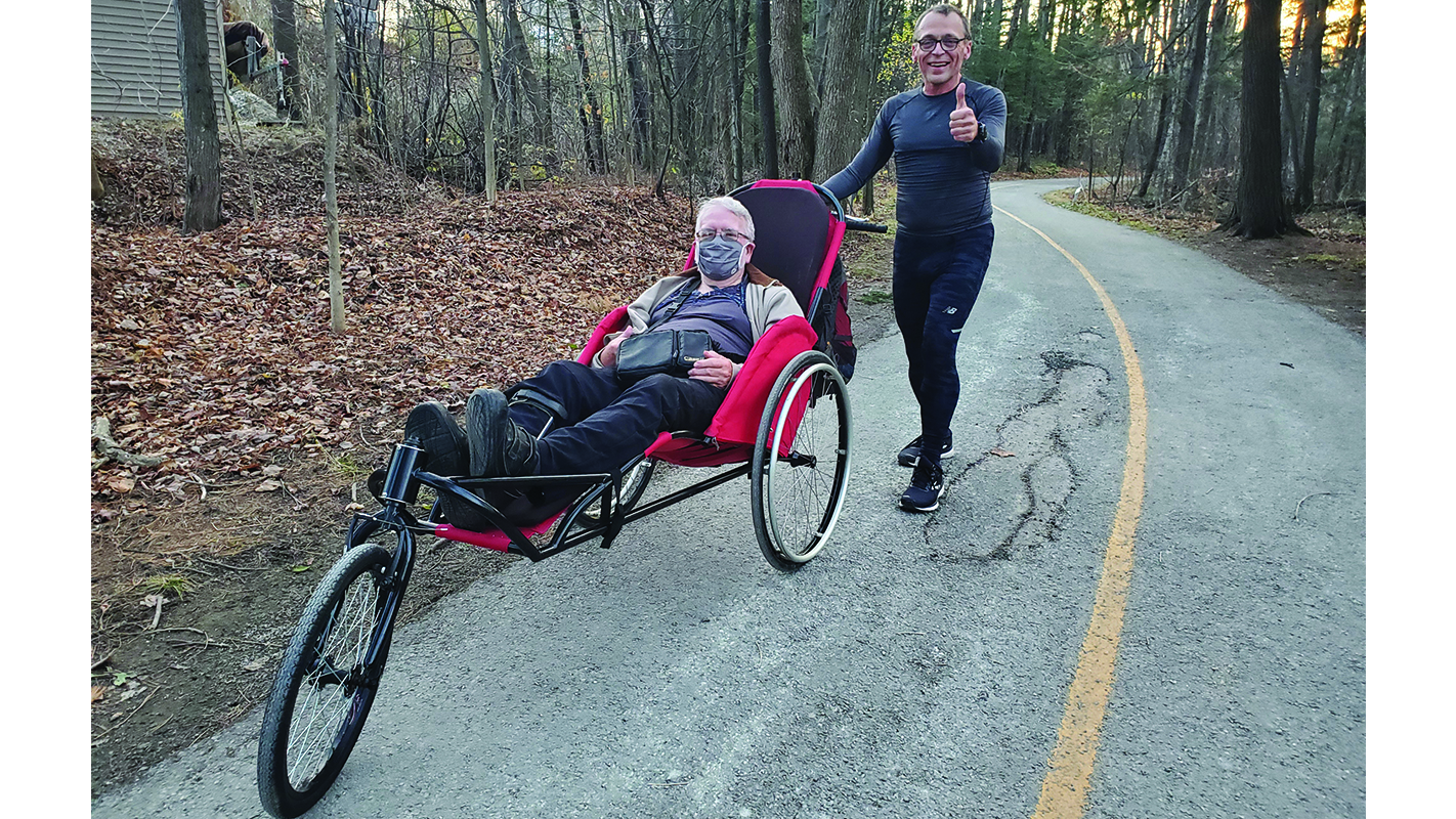 Sherbrooke resident donates funds for  adapted wheelchair