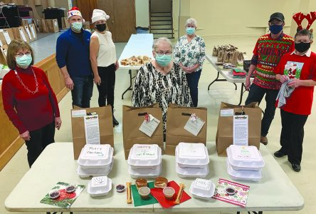 Hope Community Church prepares Christmas takeaway meals