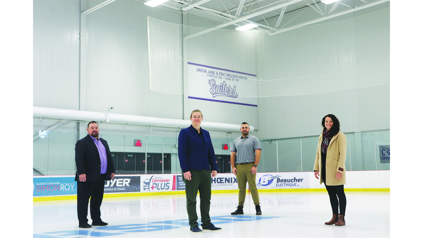 Bishop's hockey coach helps launch Women's Hockey Institute