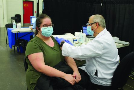 COVID vaccination underway in the Townships