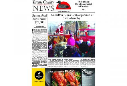 Brome County News – Dec. 22, 2020 edition