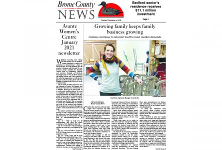 Brome County News – Dec. 29, 2020 edition