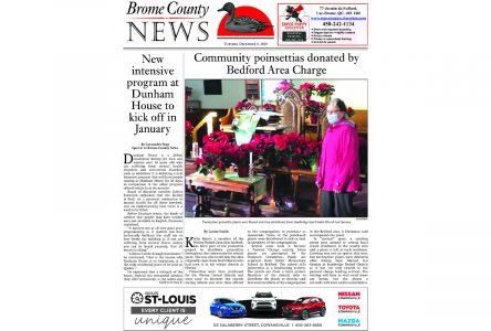 Brome County News – Dec. 8, 2020 edition