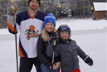 Friday File-Backyard rink part 2