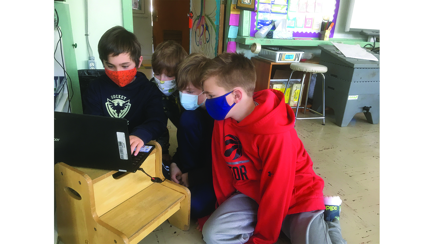 Lennoxville Elementary Students chime in