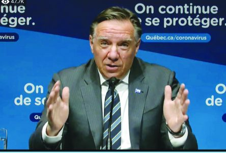Happy New Year, stay home,  Legault says