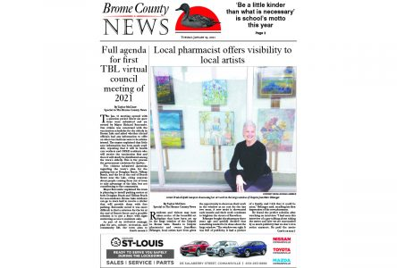 Brome County News – Jan. 19, 2021 edition
