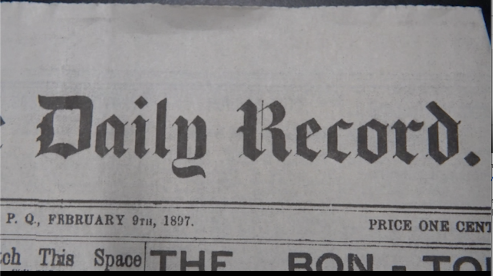 The Record-124 years of serving the local community