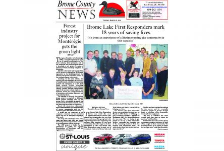 Brome County News – March 16, 2021 edition