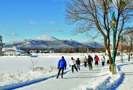 Downtown Magog: A popular site this winter