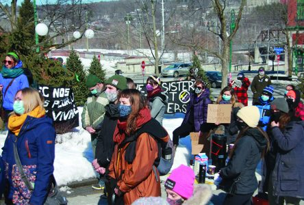 Getting louder: Local feminist group reminds change is still needed