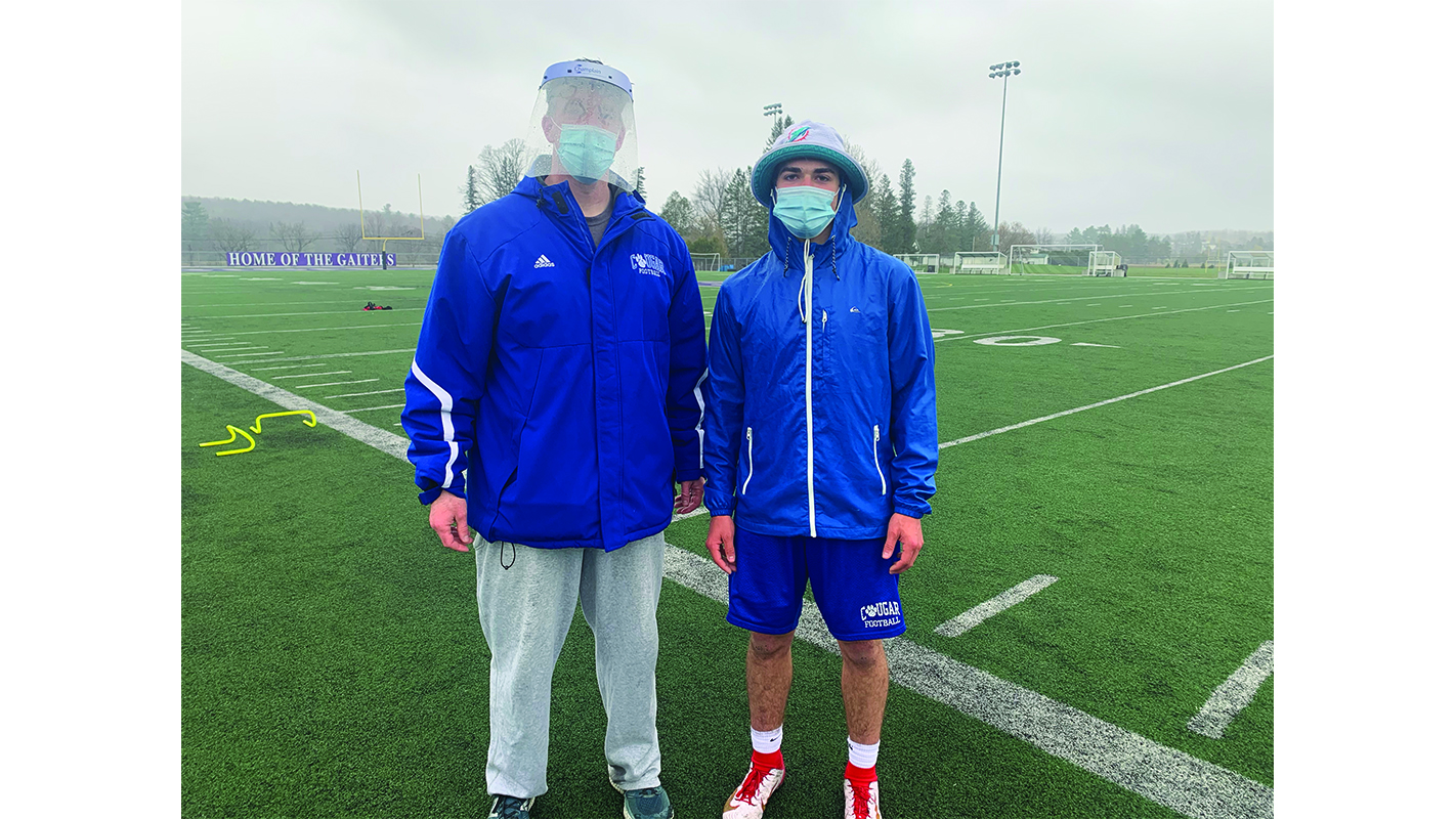 Champlain student-athletes return to practice on limited basis
