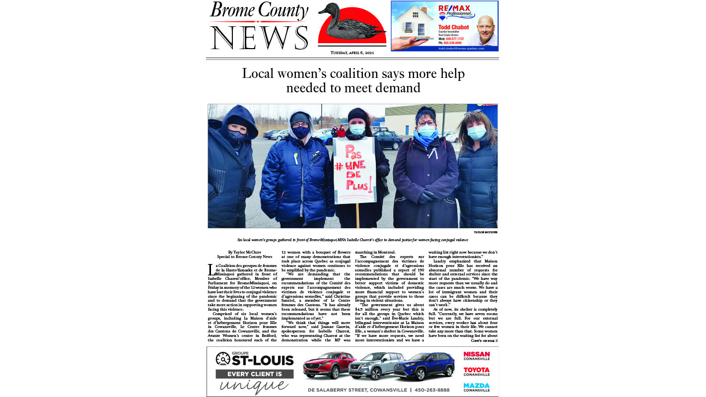 Brome County News April 8, 2021 Edition