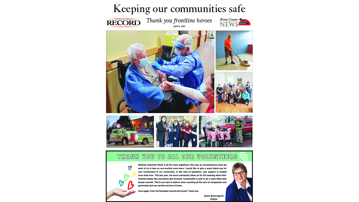 Keeping our communities safe: Thank you frontline heroes