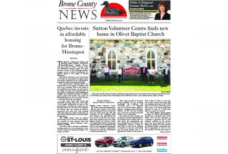 Brome County News – May 25, 2021 edition