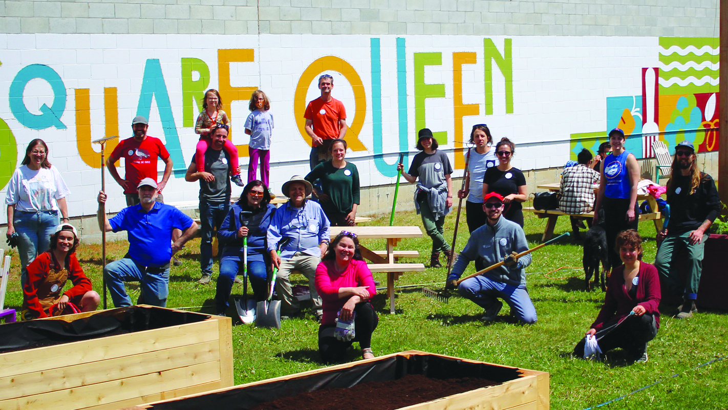 Sowing the seeds of community in Square Queen